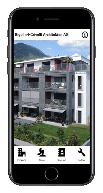 bigolin crivelli architekten ag app web fabrik. Black Bedroom Furniture Sets. Home Design Ideas