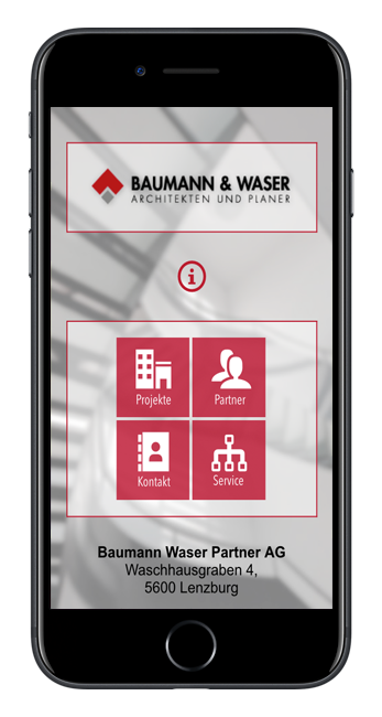 baumann waser partner ag app web fabrik. Black Bedroom Furniture Sets. Home Design Ideas